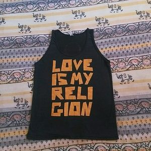 Love Is My Religion ❤️ tank